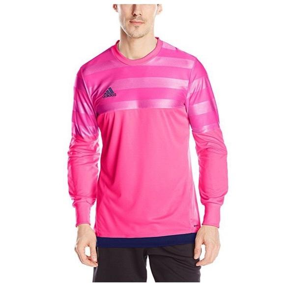 adidas | Men's Pink Soccer Goalie Shirt | Sz M